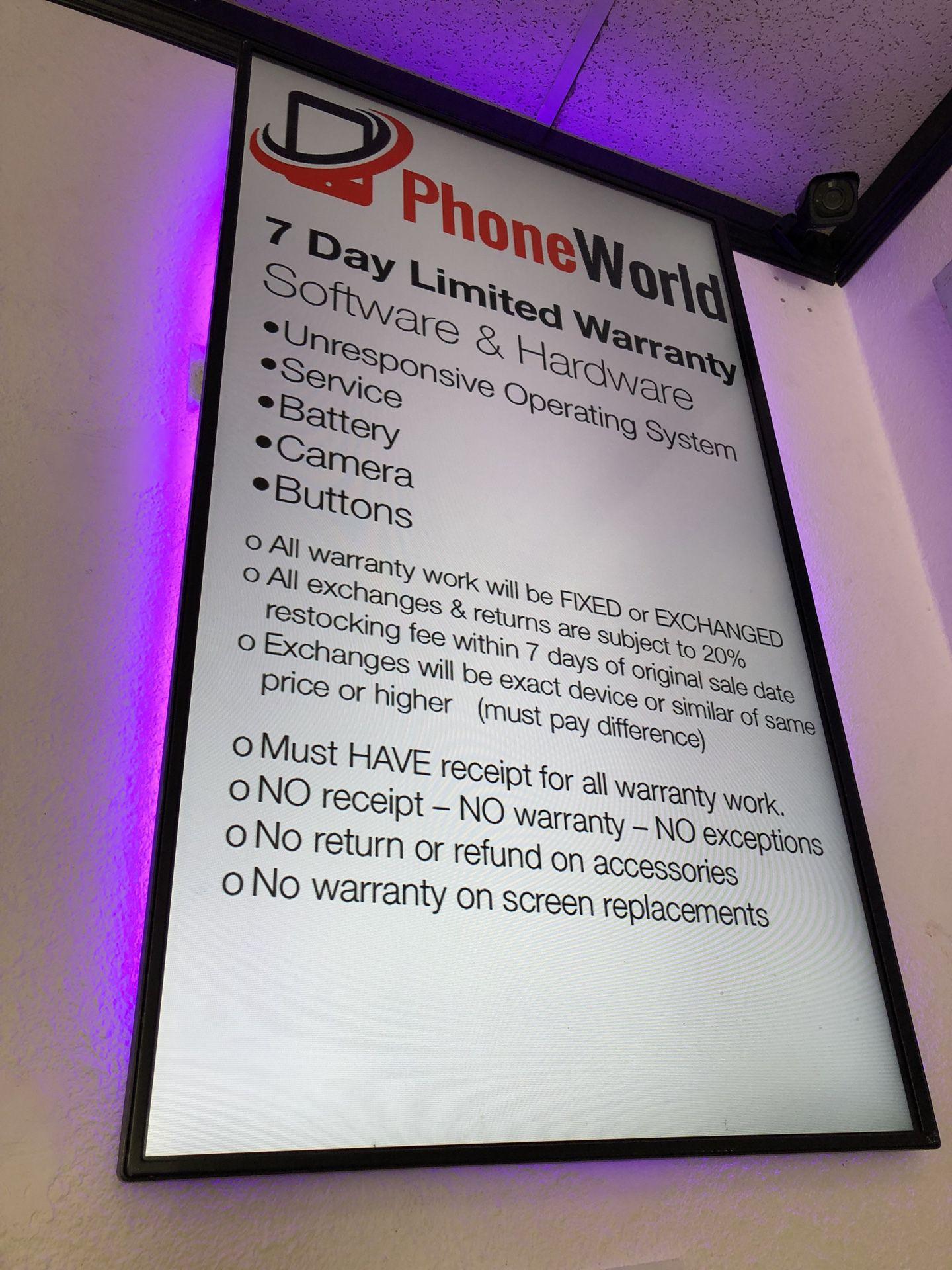Free accessories at phoneworld Sahara! 🎁💰✅👌