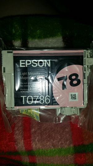 Epson 78 light magenta ink for Sale in Waynesboro, VA