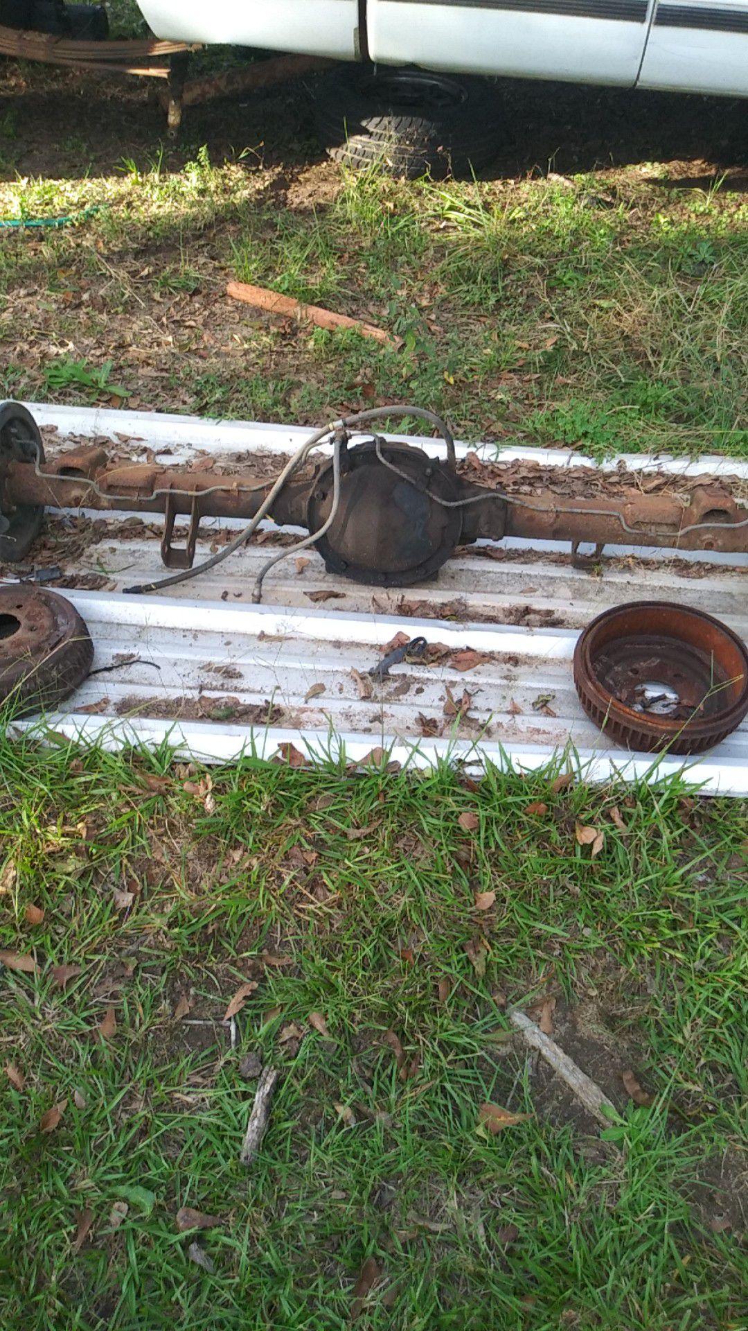 Rear axle out of 95 chevy Silverado