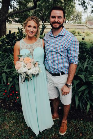 Teal bridesmaids dress for Sale in Houston, TX