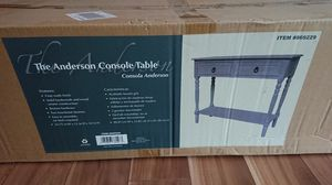 The Anderson Console Table New, never used for Sale in Coral Springs, FL