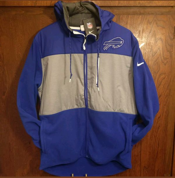 brand new 304b0 c46a9 SZ L New Nike Buffalo Bills NFL Therma Fleece Jacket Hoodie - Blue Gray NWT  for Sale in Inglewood, CA - OfferUp