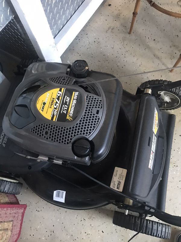 6 75 Yard Machines Lawn Mower For Sale In Port St Lucie