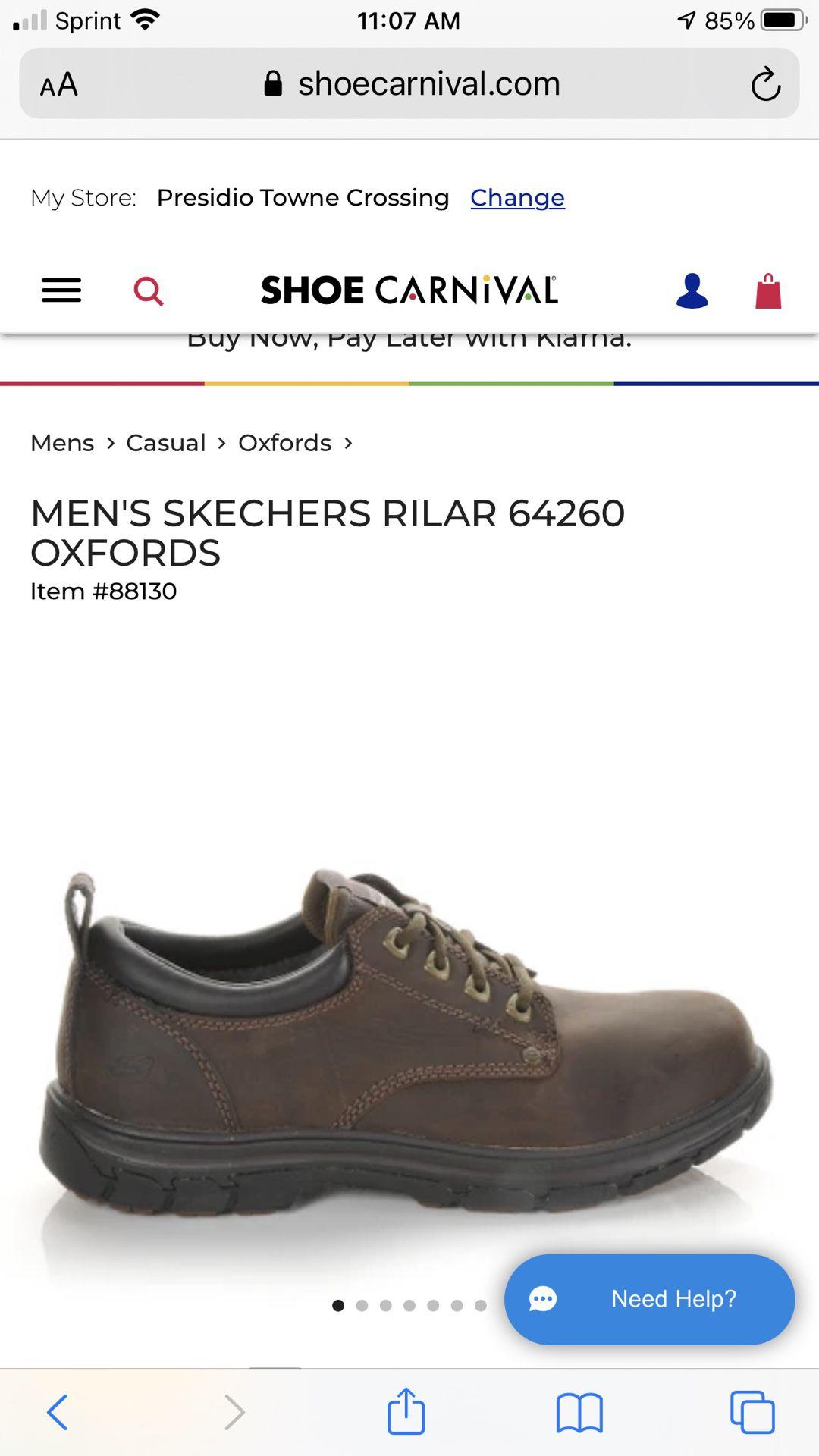 Skechers Men's Oxfords Size 10