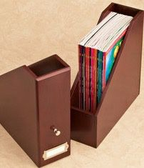Beautiful Magazine Files, Woodworx, Mahogany for Sale in Hartford, CT