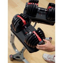 New Bowflex Weights 552 pair complete set Sealed Local Trusted Thumbnail