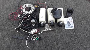 3 Berle commercial cameras and 1 momentum wireless camera an a small hidden camera and all the wiring for Sale in Independence, MO