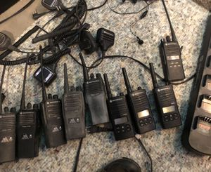 Motorola radios and headsets for Sale in Silver Spring, MD