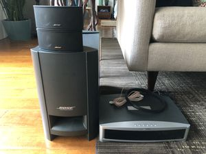 Photo BOSE 3 2 1 home theater system