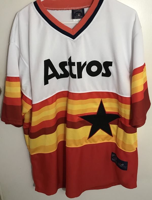 low priced 41d92 0baf5 Nolan Ryan Houston Astros Throwback Baseball Jersey for Sale in Richmond,  VA - OfferUp