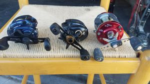 Baitcater fishing reels for Sale in Fresno, CA