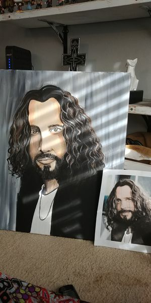 Chris Cornell painting for Sale in Austin, TX