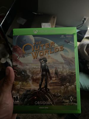 Photo The outer worlds! Xbox one game like new! Used just one time!