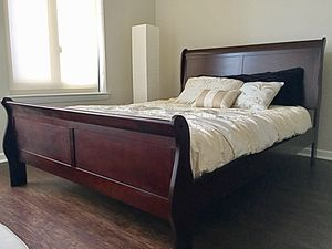 New Cherry Sleigh Queen Bed for Sale in Chevy Chase, MD