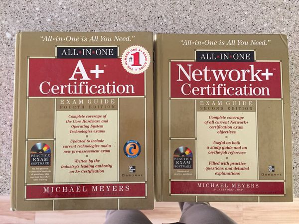 a+ certification & network+ certification book for sale in las vegas ...