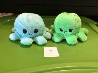 Reversible Emotional Octopus  Thumbnail