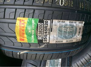 "Photo 20"" Pirelli Scorpion Verde New Tires 255/45R20 ...$109 EA"