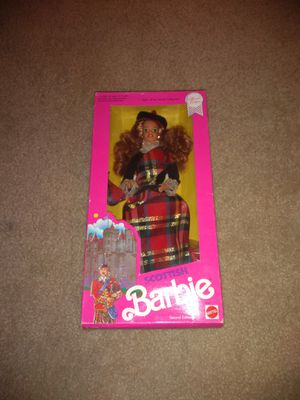 NEW NRFB Special Edition Dolls of the World Scottish Barbie 1990 for Sale in Wildomar, CA