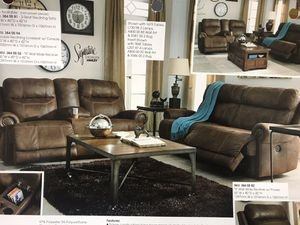Ashley Austere Power Sofa and Loveseat for Sale in Dulles, VA