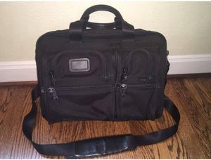 Tumi T-pass Expandable Laptop Messenger Black Briefcase Bag... for Sale in San Francisco, CA