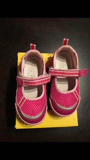 Tsukihoshi Laguna girl shoes Sz 8 water friendly washable mary jane for Sale in Arlington, VA