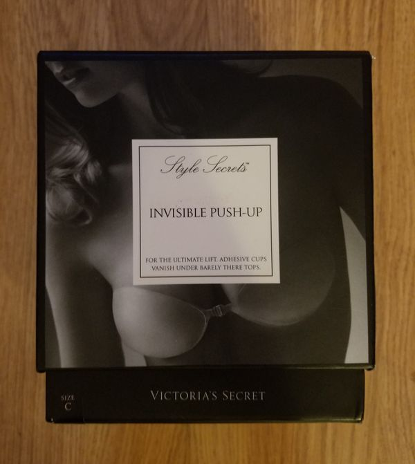 3b2ebd1dca12b Victoria s Secret Strapless Backless Invisible Push-Up Silicone Sticky Bra