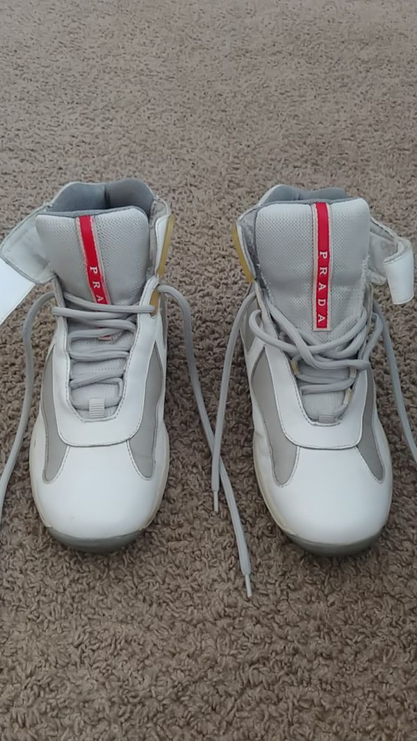0de0b5ce01b6 PRADA Men s Shoes Sneakers America s Cup HighTop Size 6 for Sale in ...