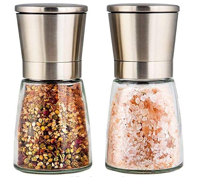 Sleek Elegant Grinders - Have Your Salt & Pepper The Way You Like Them!