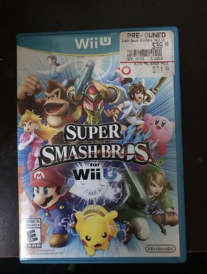 Super Smash Bros. Wii U Game for Sale in Oxon Hill, MD