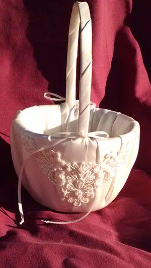 Flower girl basket for Sale in Scottsdale, AZ