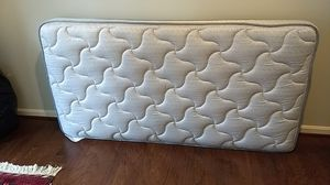 Sealy Dearborn twin mattress, box spring, frame & linens! for Sale in Fairfax, VA