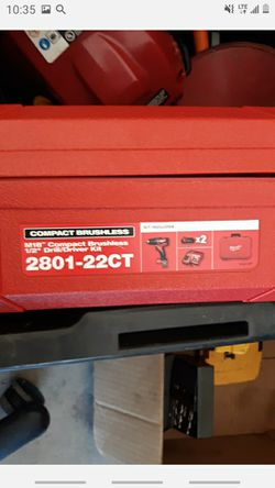 Compack brushless drill driver kit Thumbnail