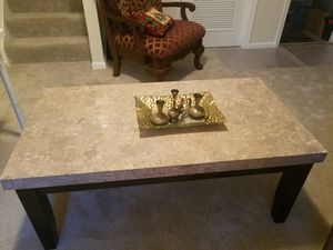 Marble table 70$ picture 20$ picture 10$ Lamp 3 for Sale in Manassas, VA