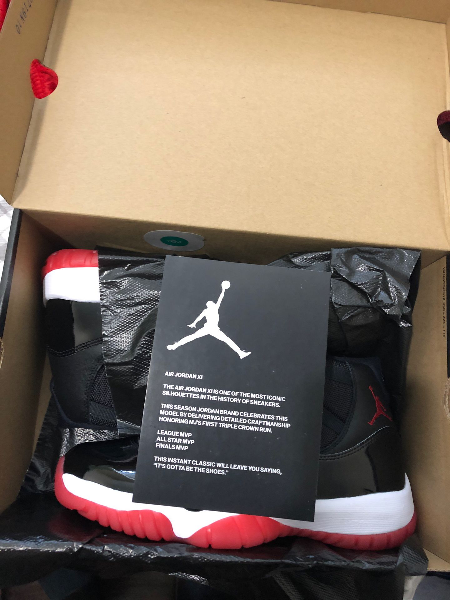 Jordan 11 Bred