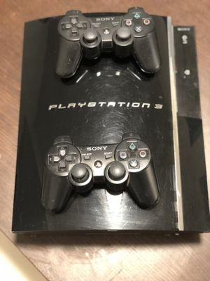 PlayStation 3 (Gen 1) with 2 controllers 80gb for Sale in Fairfax, VA