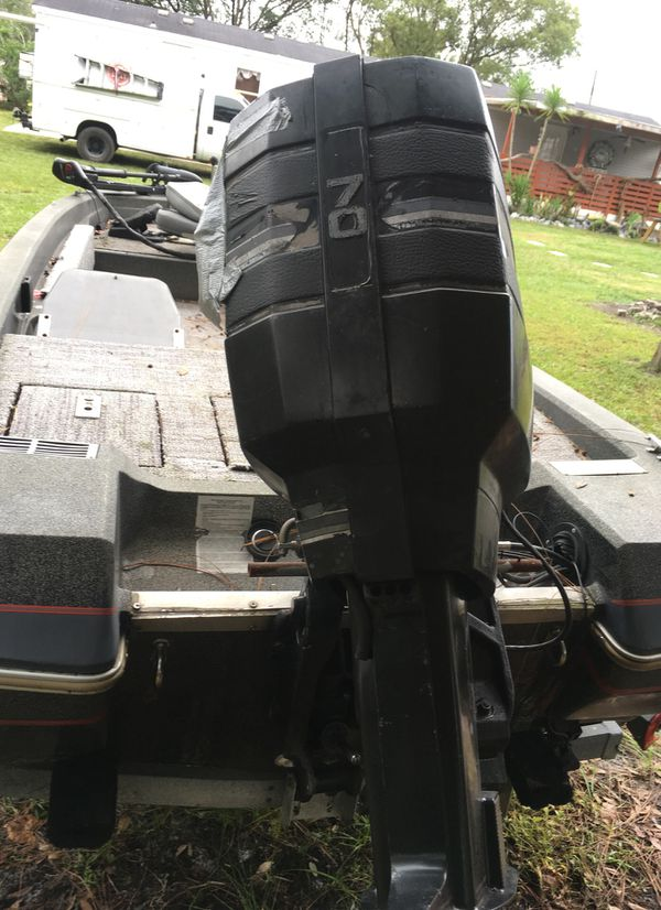 16ft Cajun Demon Bass Boat For Sale In Kissimmee Fl Offerup