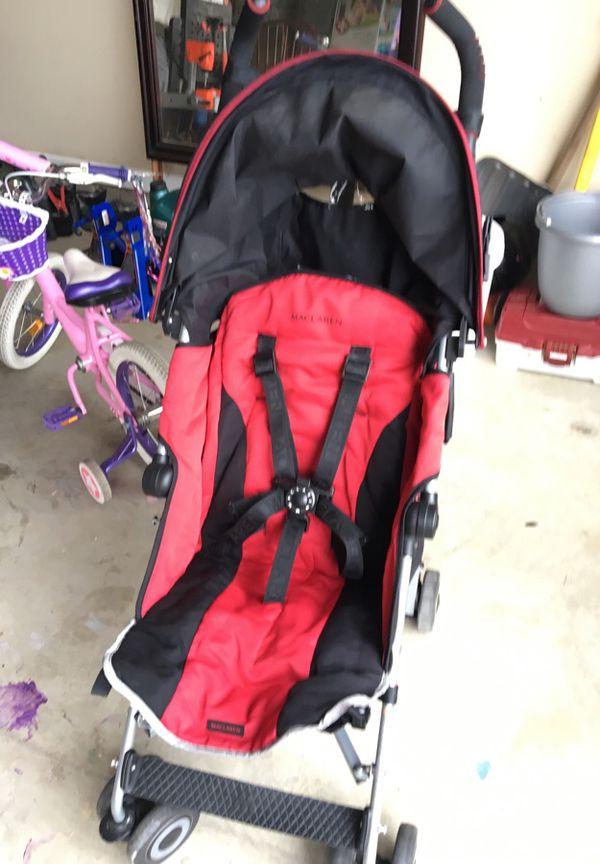 Maclaren Umbrella Stroller With Rain Cover For Sale In Phenix City Al Offerup