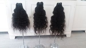 Virgin Natural Curly Indian Hair from India for Sale in Chevy Chase, MD