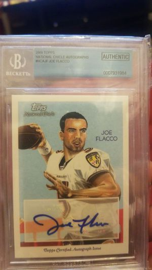 Joe flacco card for Sale in Germantown, MD