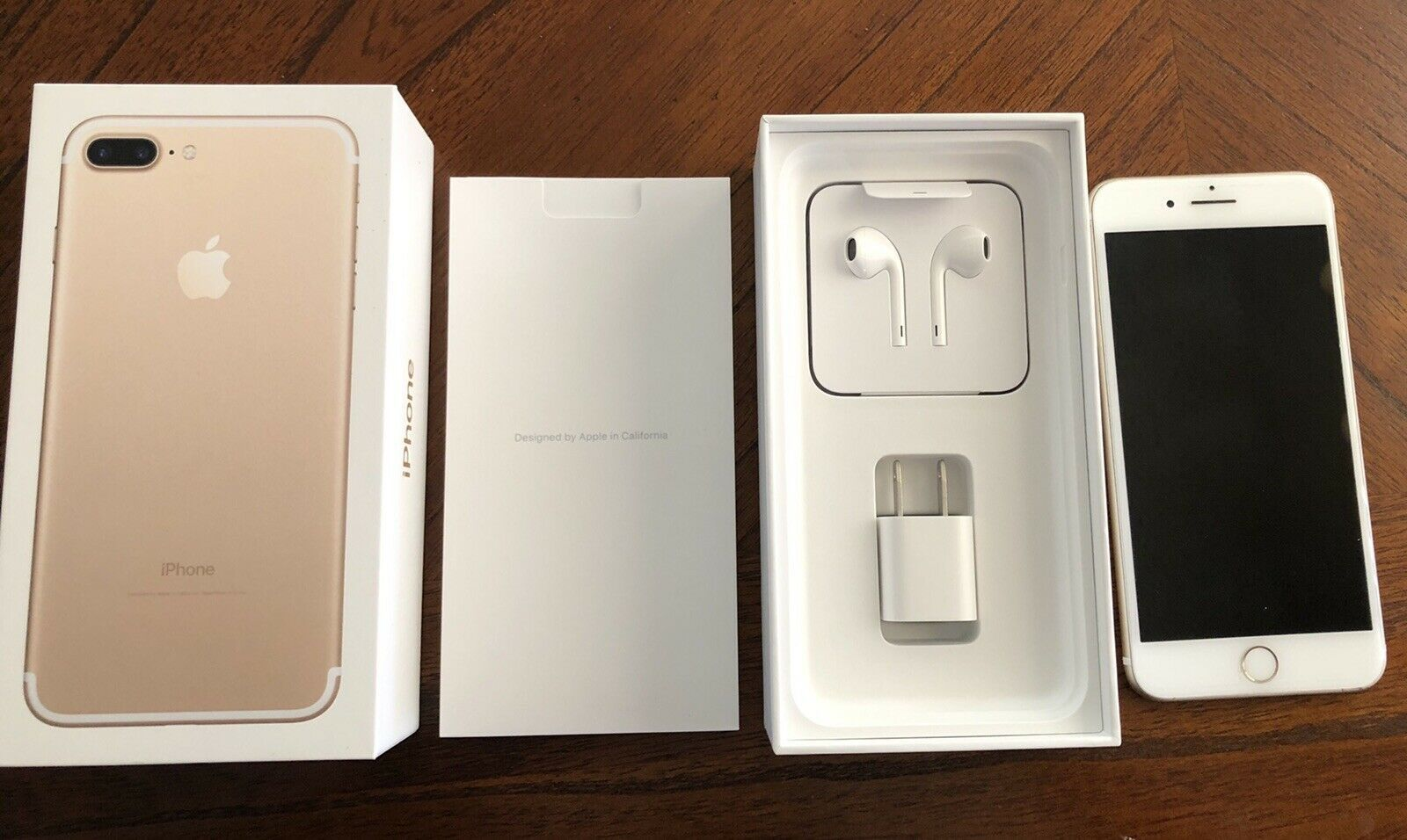 Brand new gold iPhone 7 Plus $150