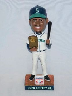 Seattle Mariners Ken Griffey Jr Hall of The Fame Bobblehead 2016 Thumbnail