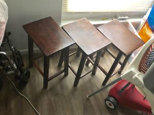 Wooden bar stools for Sale in Gaithersburg, MD