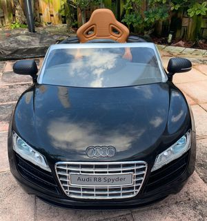 Photo Power wheels, ride on toys, toy car, baby car, toddlers Electric kids car Audi R8