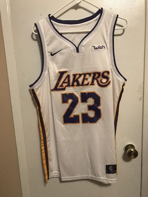 f9762e396fa Lebron James  23 white Los Angeles lakers jersey ! for Sale in Sylmar