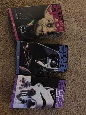Star Wars VHS great condition for Sale in Orlando, FL