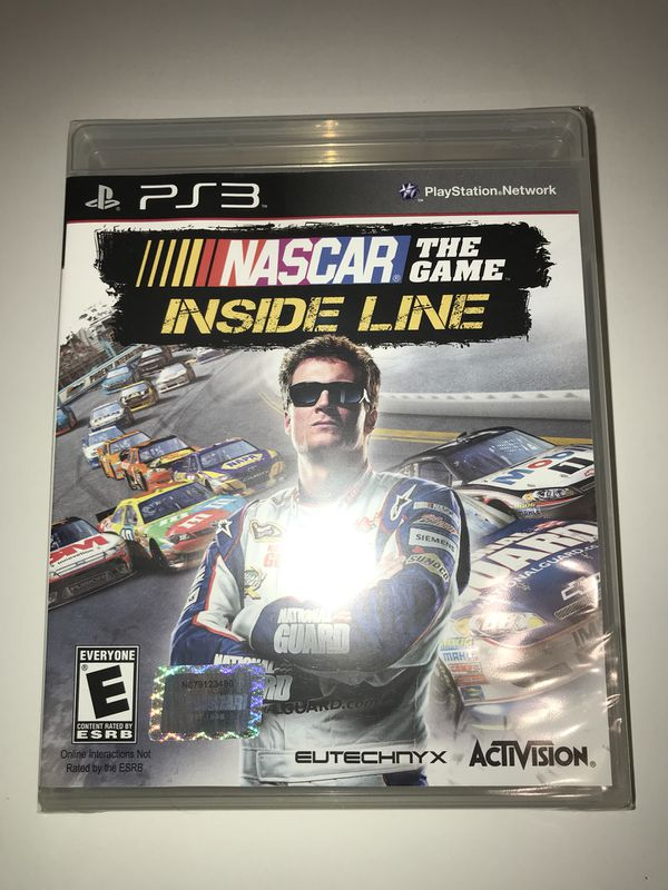 New - NASCAR The Game Inside Line Video Game For PS3 for Sale in DeSoto, TX  - OfferUp