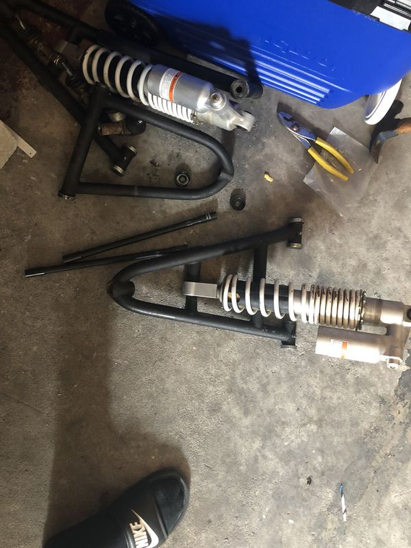 Yfz 450 or banshee shocks and aftermarket a arms for Sale in New Port  Richey, FL - OfferUp