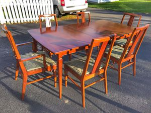Dining table and six chairs for Sale in Ashburn, VA