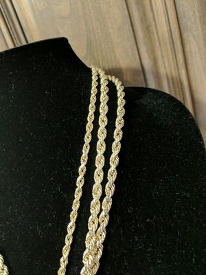 368599a2db8d0 Fat real 10kt gold chains for Sale in Gilbert, AZ - OfferUp