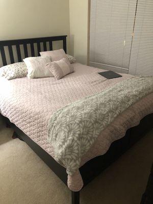 IKEA Queen 3 piece bedroom set for Sale in Annandale, VA